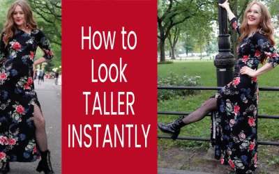 How to Look Taller Instantly