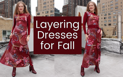 How to Layer Dresses for Fall
